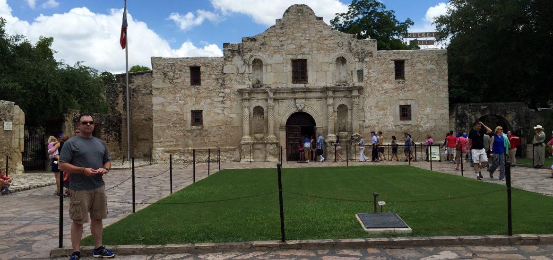 Me at the Alamo...again.